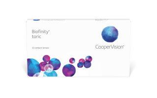 Lentilles Biofinity Biofinity Toric 6 unitats