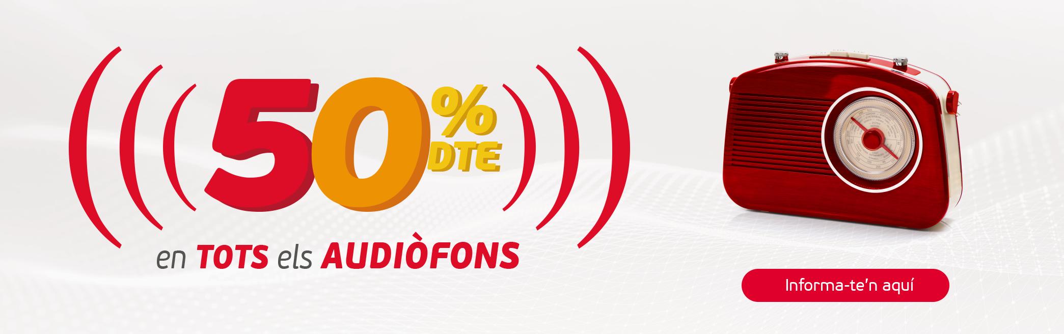 50 audiòfons
