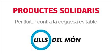 Productes solidaris contra la ceguesa evitable