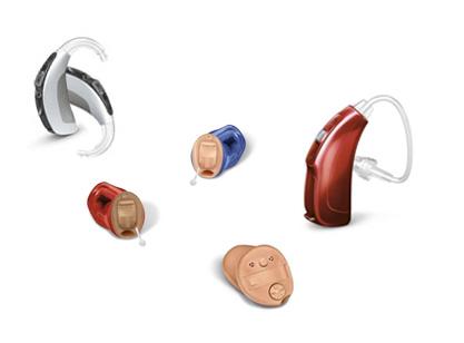 Diferents tipus d'audiòfons
